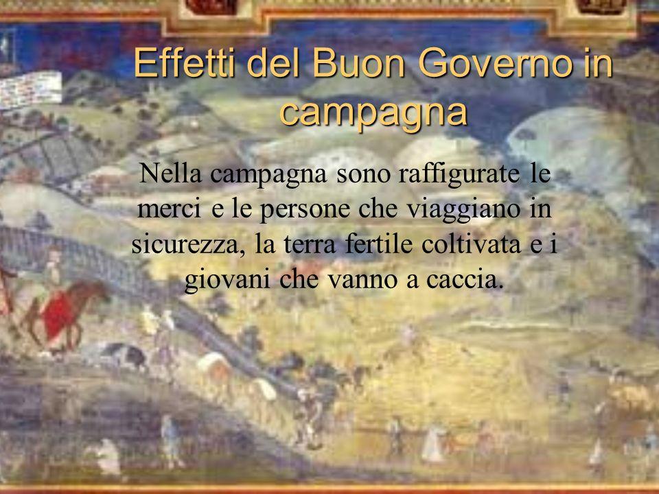 Effetti del Buon Governo in campagna