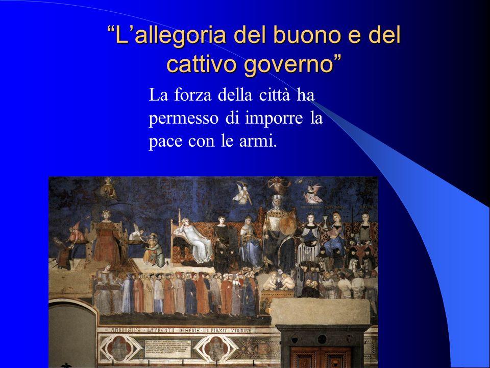 L'allegoria del buono e del cattivo governo
