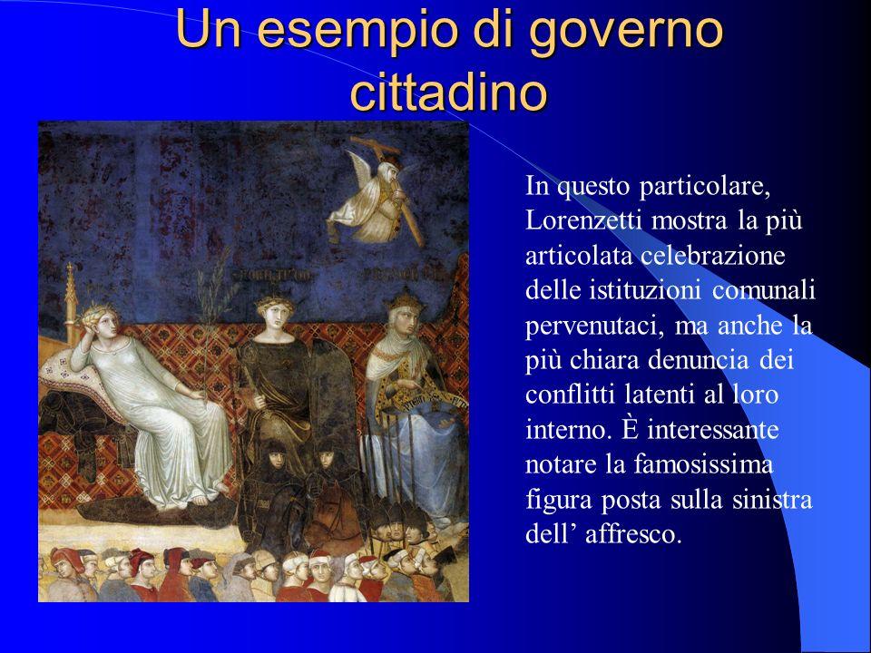 Un esempio di governo cittadino