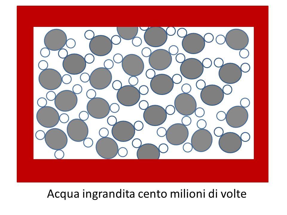 Acqua ingrandita cento milioni di volte