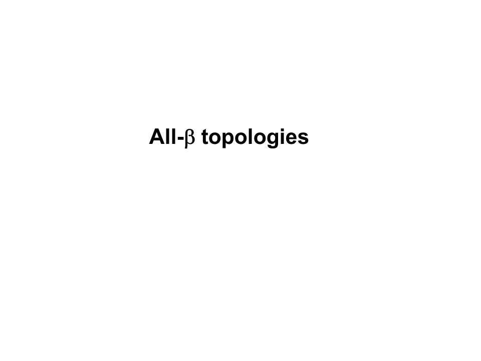 All- topologies