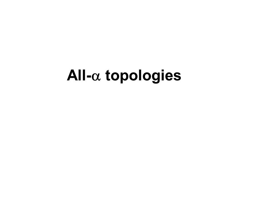 All- topologies