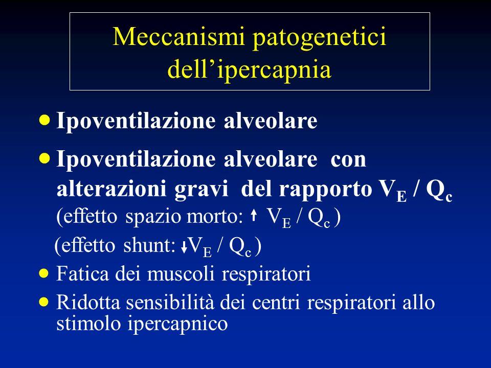 Meccanismi patogenetici dell'ipercapnia