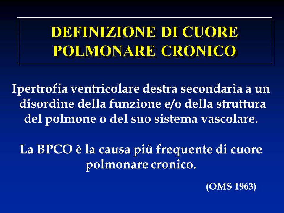 DEFINIZIONE DI CUORE POLMONARE CRONICO