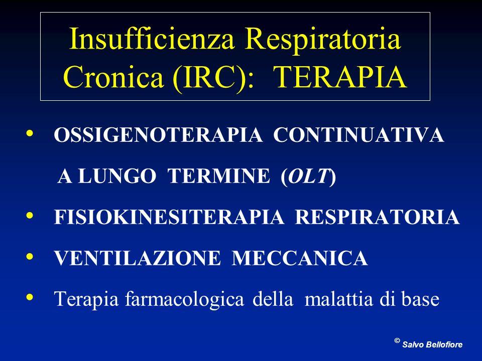 Insufficienza Respiratoria Cronica (IRC): TERAPIA