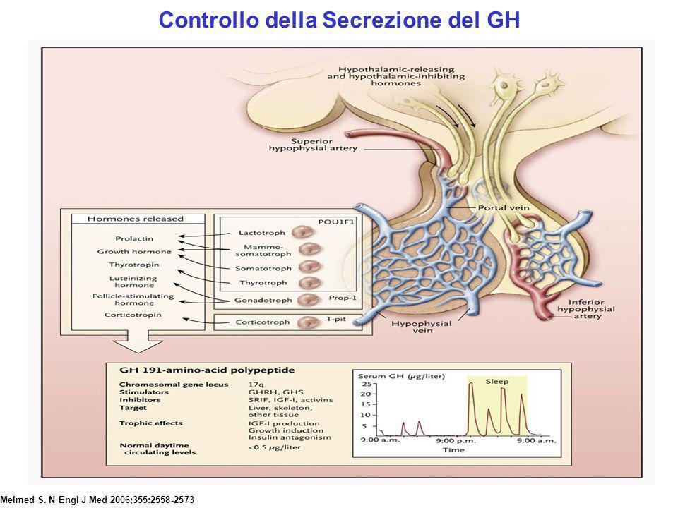 Controllo della Secrezione del GH