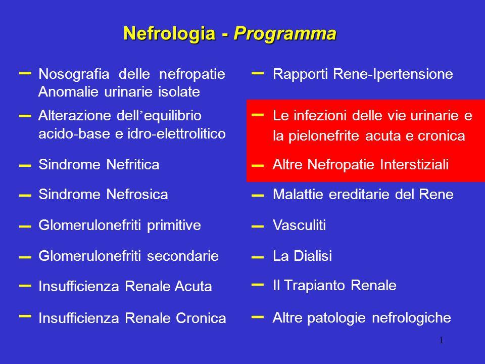 Nefrologia - Programma