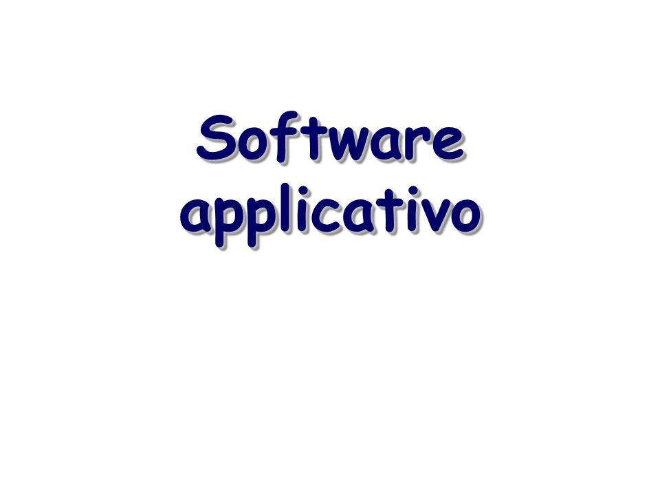 Software applicativo