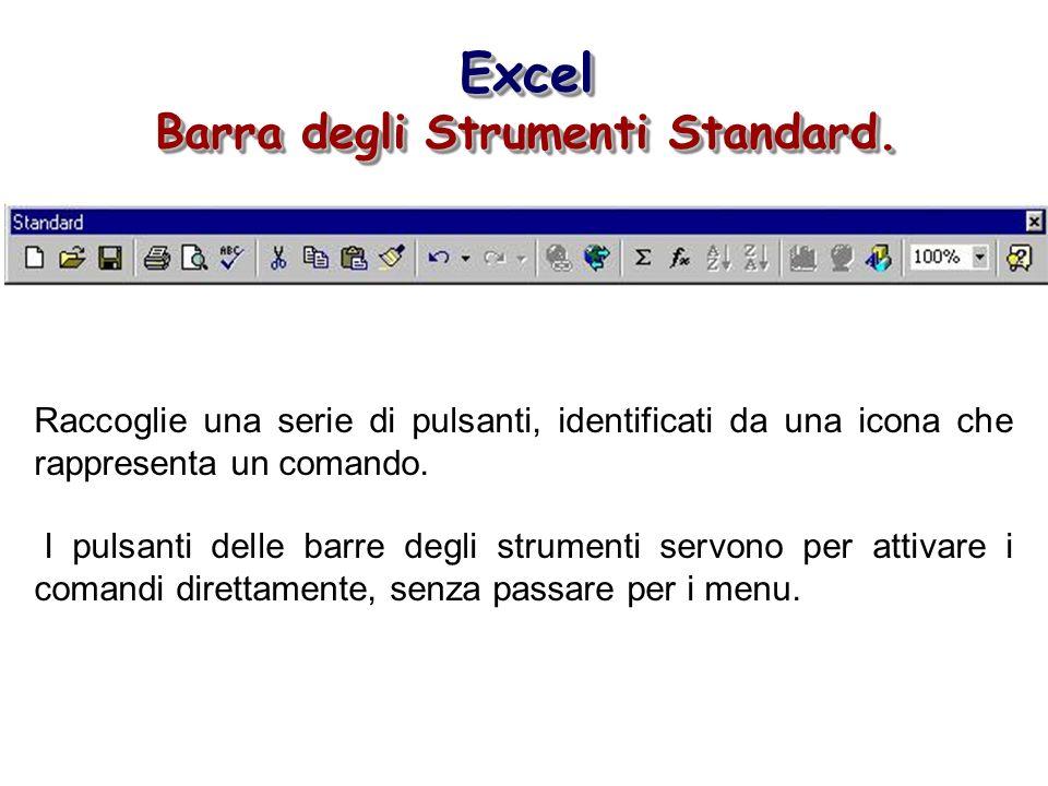 Barra degli Strumenti Standard.