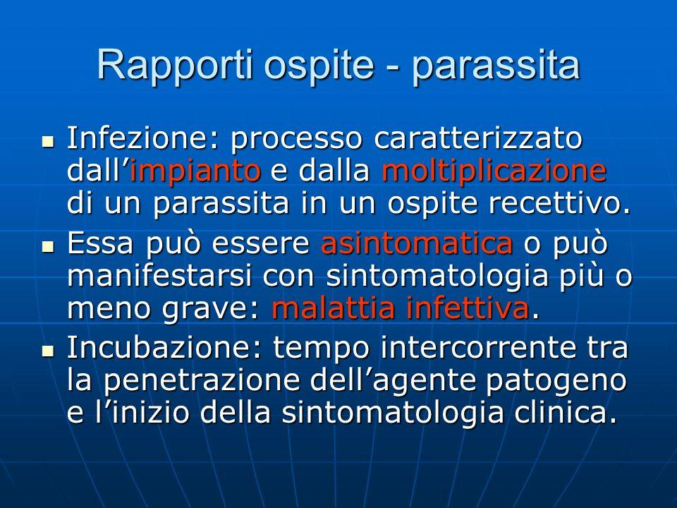Rapporti ospite - parassita