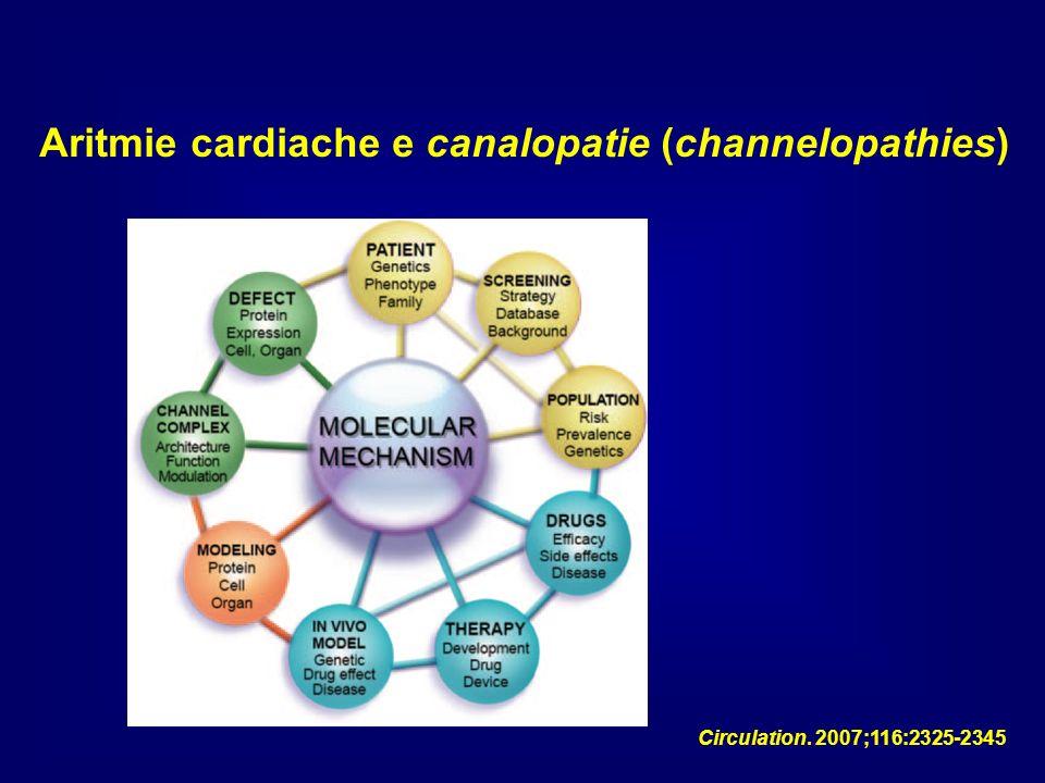 Aritmie cardiache e canalopatie (channelopathies)