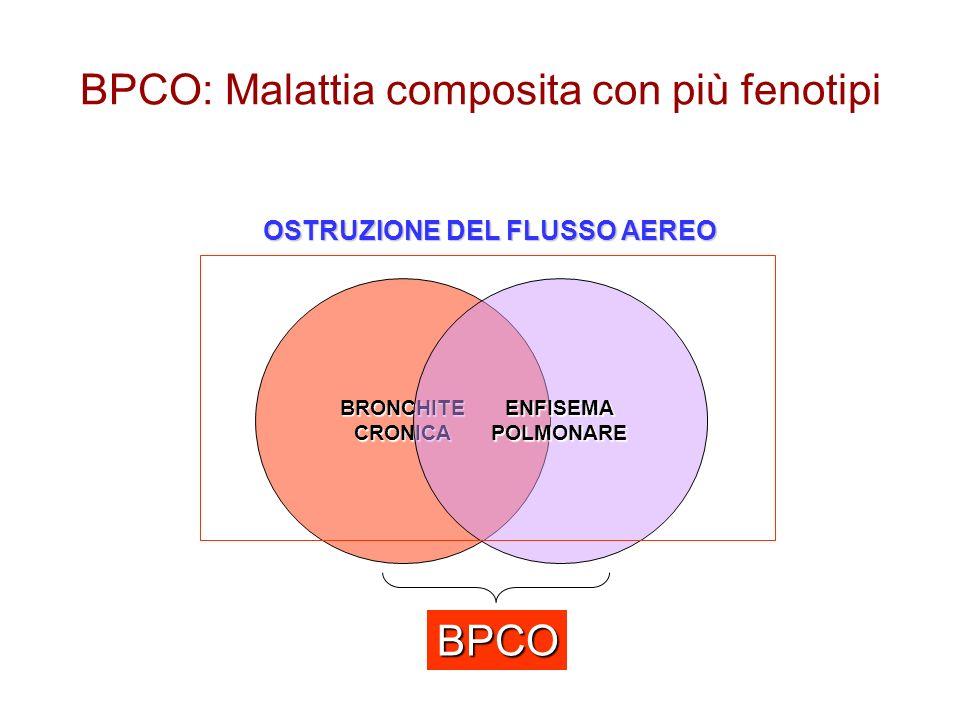 BPCO: Malattia composita con più fenotipi