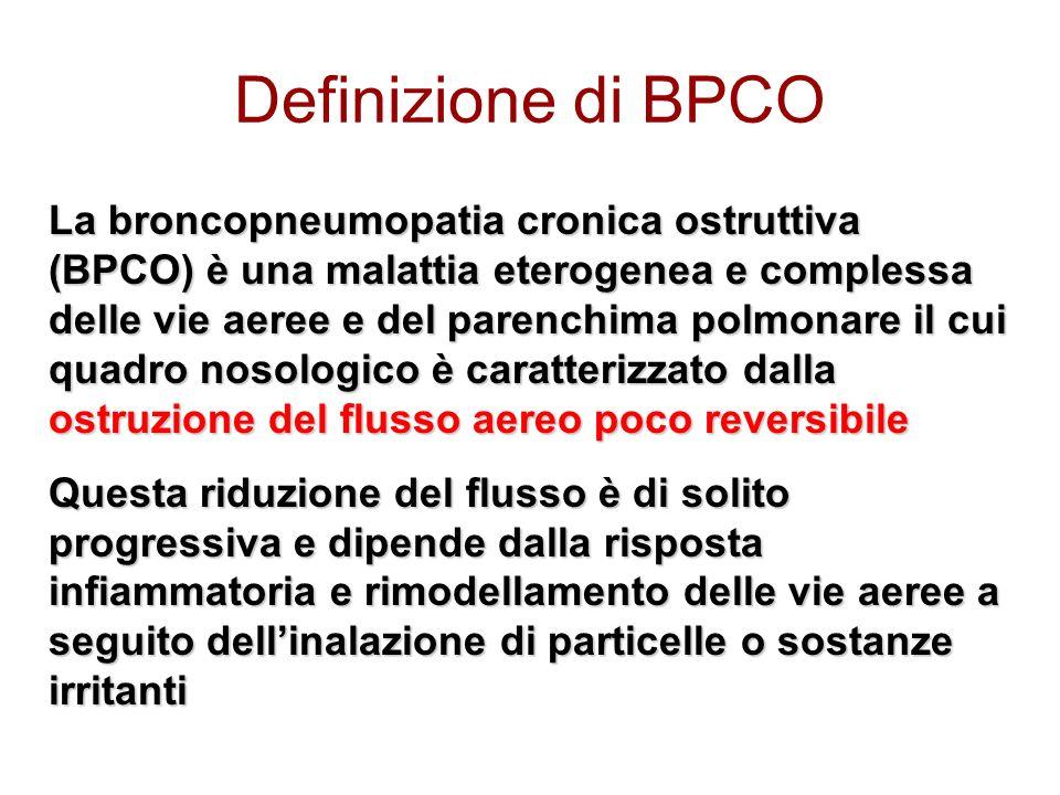 Definizione di BPCO