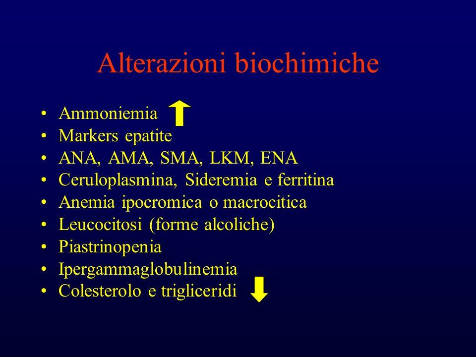 Alterazioni biochimiche