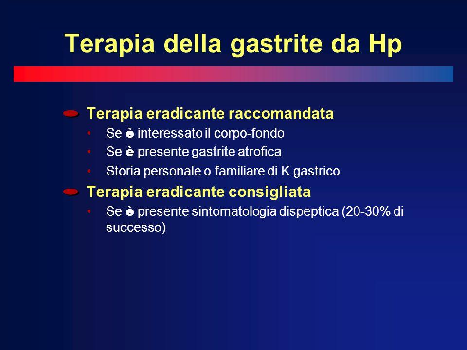 Terapia della gastrite da Hp