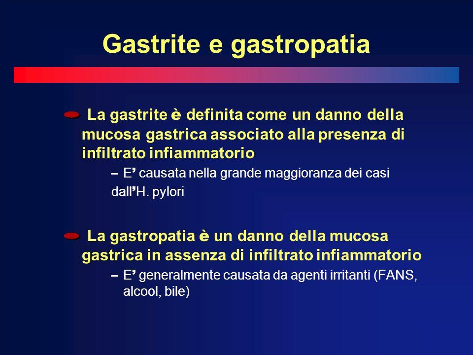 Gastrite e gastropatia