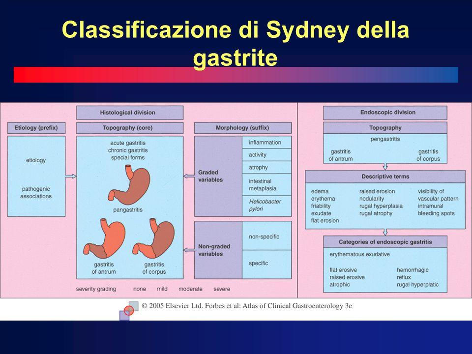 Classificazione di Sydney della gastrite