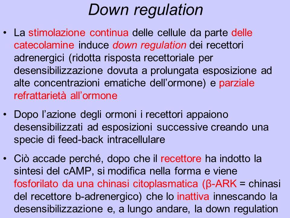 Down regulation