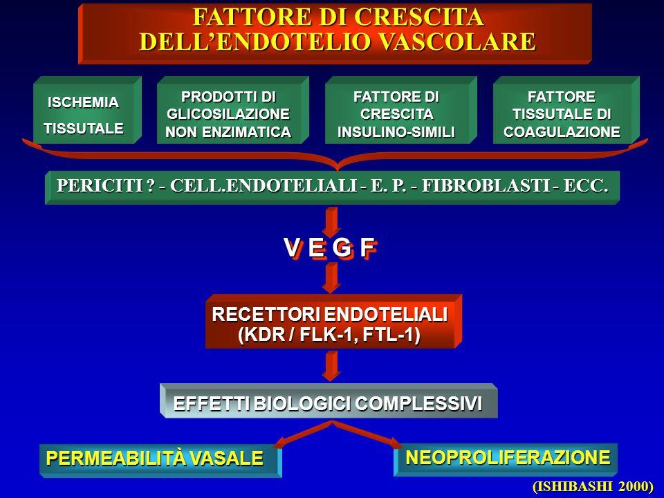 FATTORE DI CRESCITA DELL'ENDOTELIO VASCOLARE
