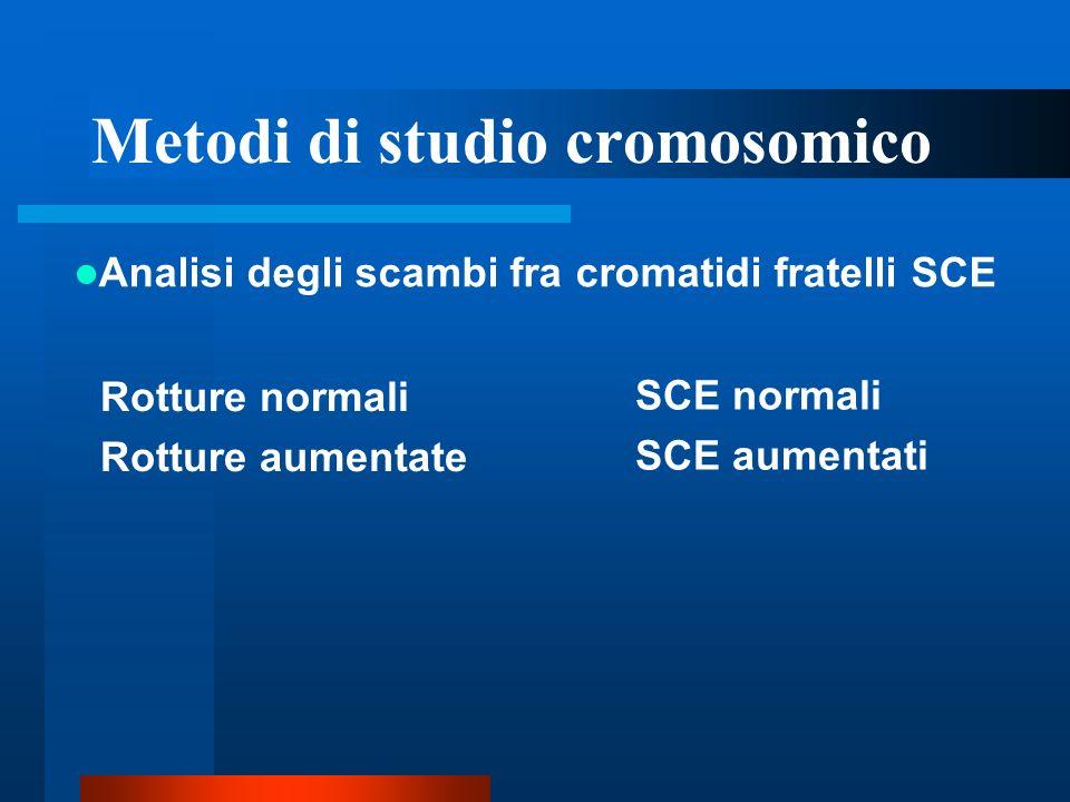 Metodi di studio cromosomico