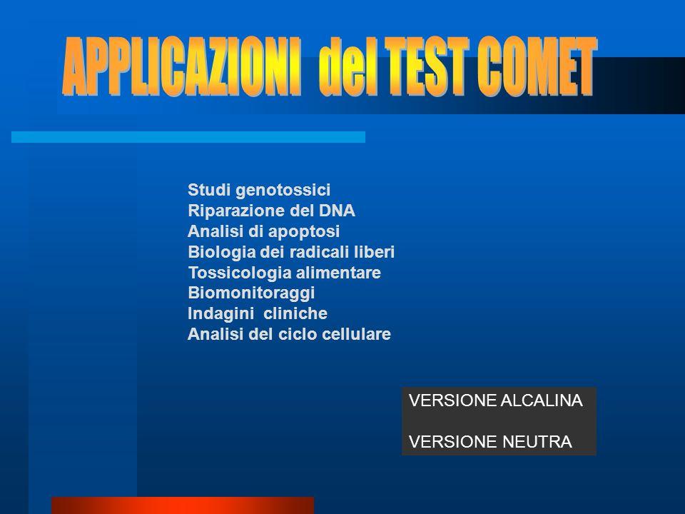 APPLICAZIONI del TEST COMET