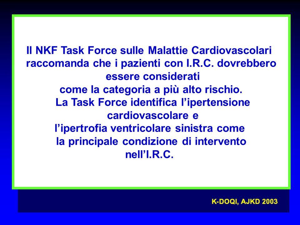 Il NKF Task Force sulle Malattie Cardiovascolari
