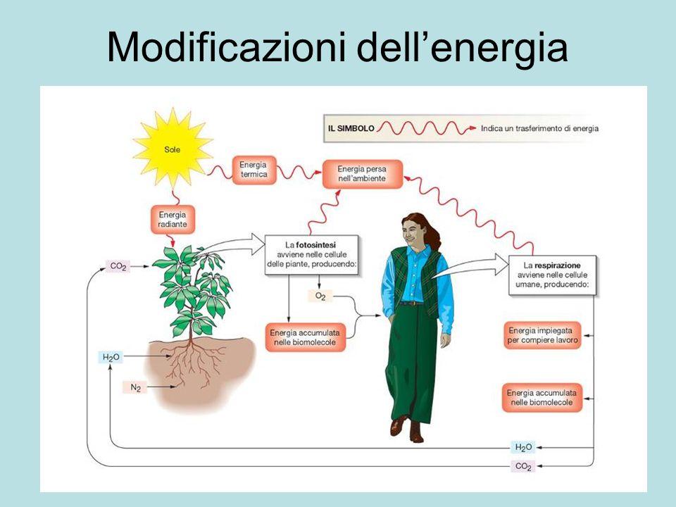 Modificazioni dell'energia