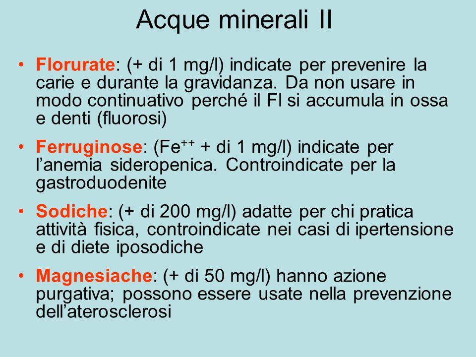 Acque minerali II