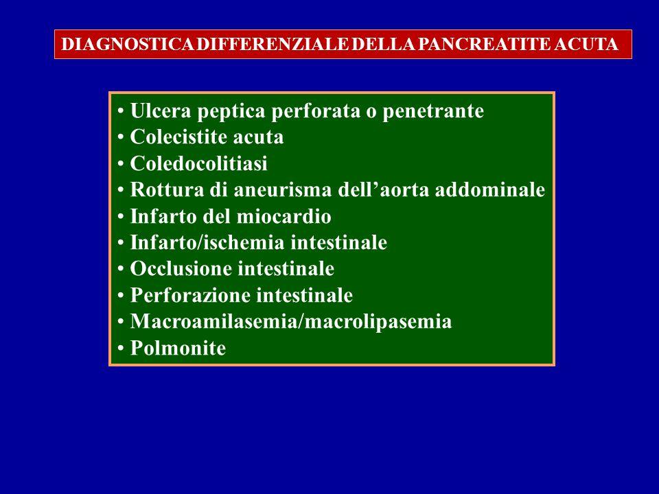 Ulcera peptica perforata o penetrante Colecistite acuta