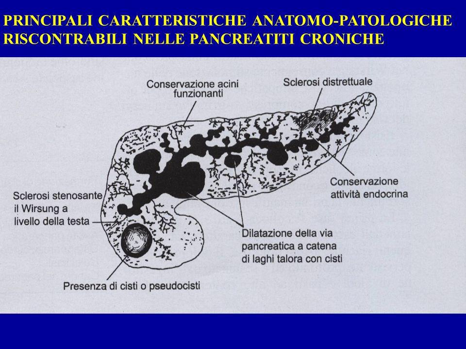 PRINCIPALI CARATTERISTICHE ANATOMO-PATOLOGICHE