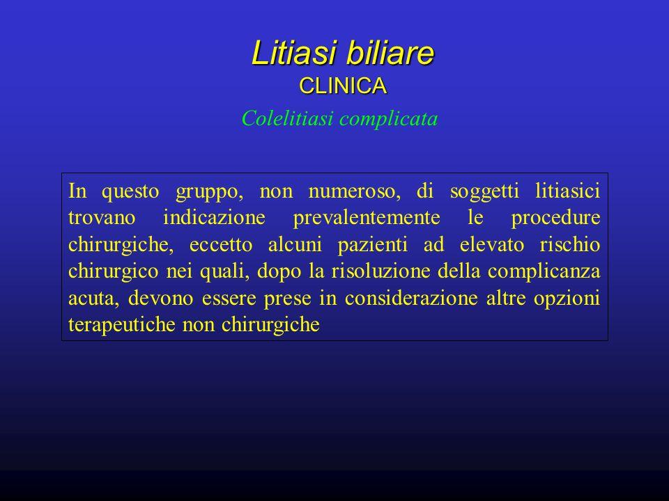 Litiasi biliare CLINICA
