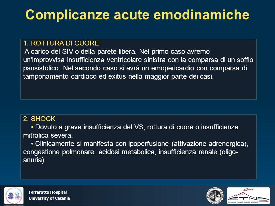 Complicanze acute emodinamiche