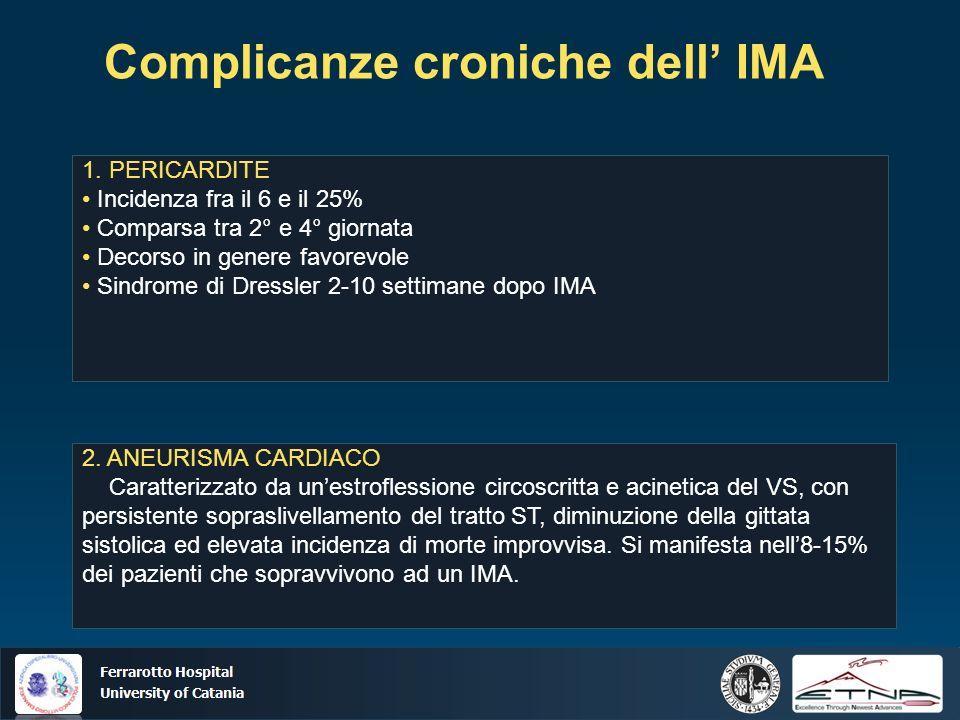 Complicanze croniche dell' IMA