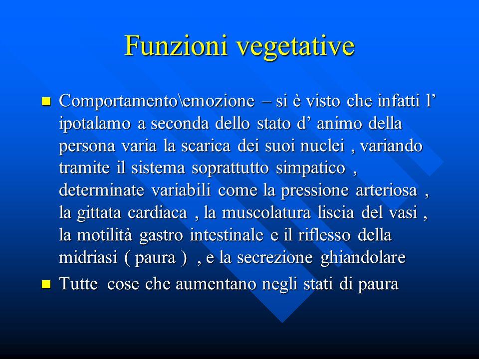 Funzioni vegetative