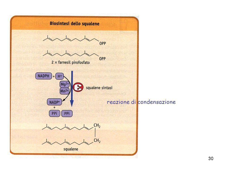 reazione di condensazione