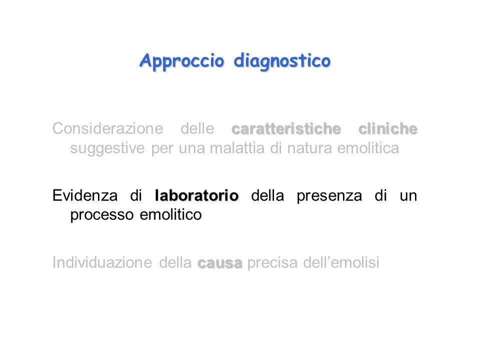 Approccio diagnostico