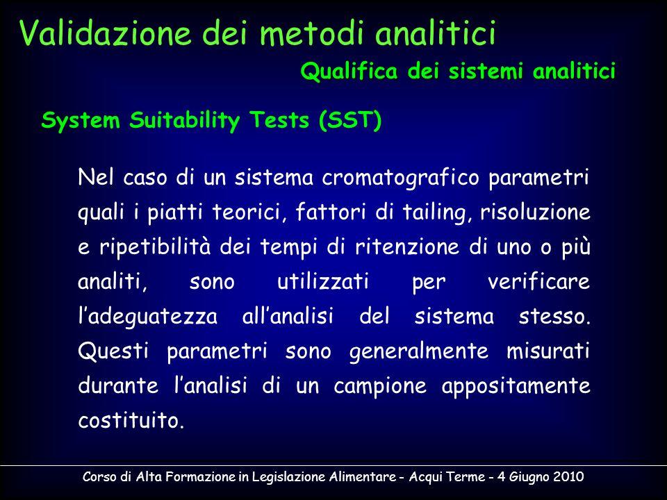 Qualifica dei sistemi analitici