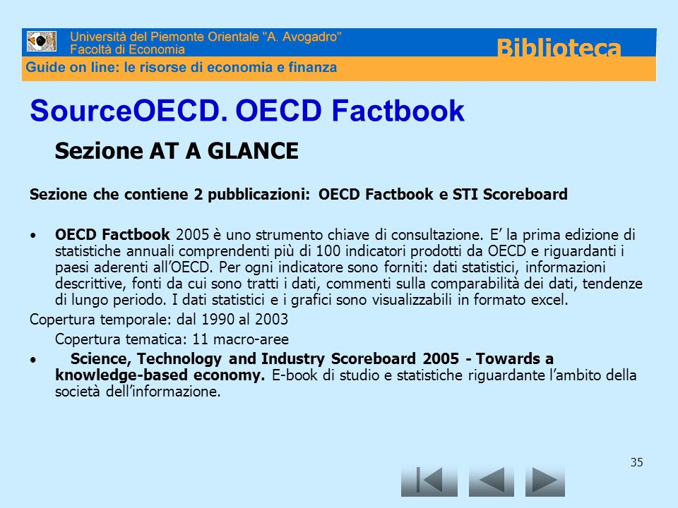 SourceOECD. OECD Factbook