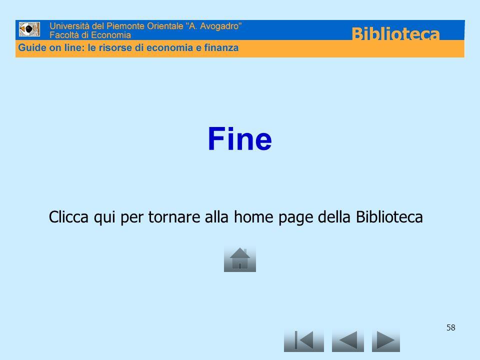 Clicca qui per tornare alla home page della Biblioteca