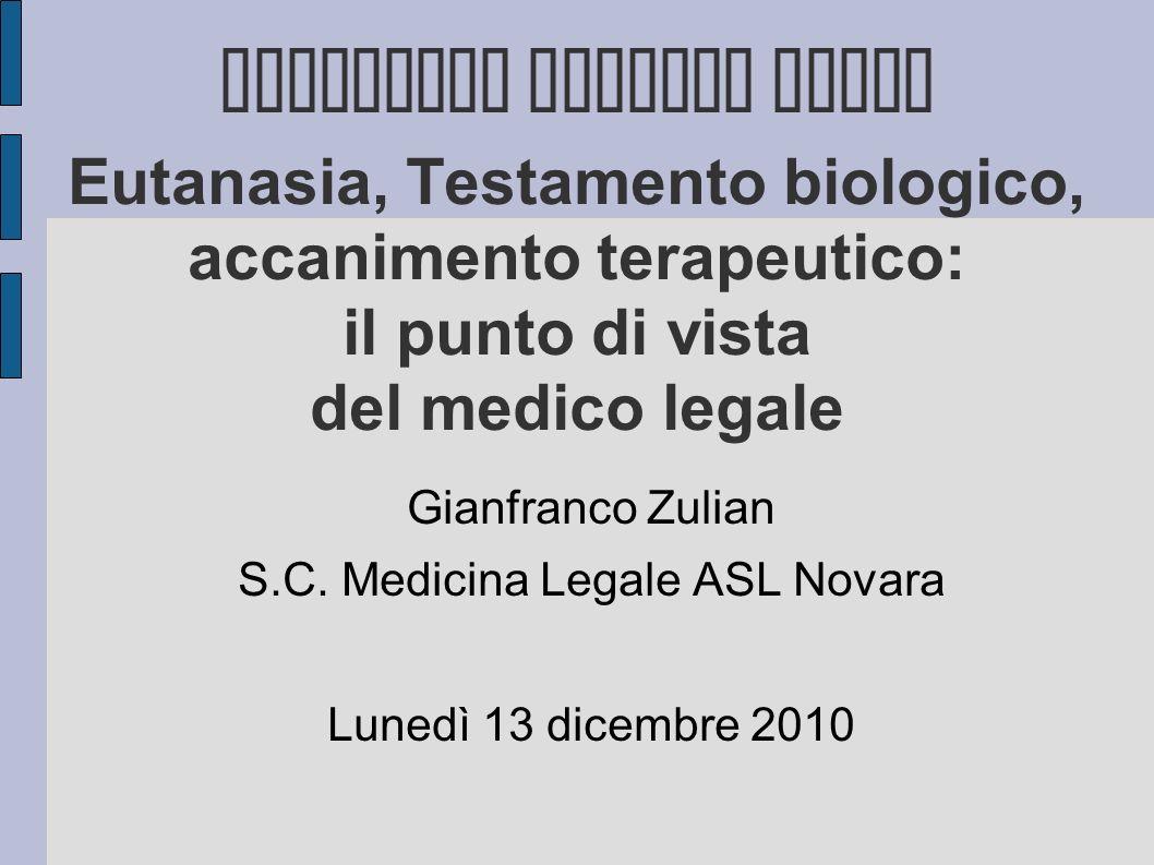 S.C. Medicina Legale ASL Novara