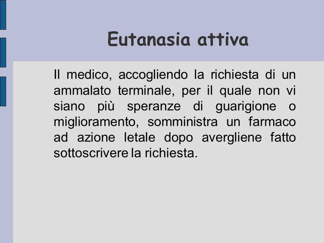 Eutanasia attiva