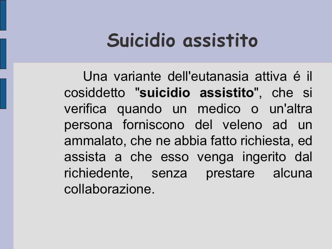 Suicidio assistito