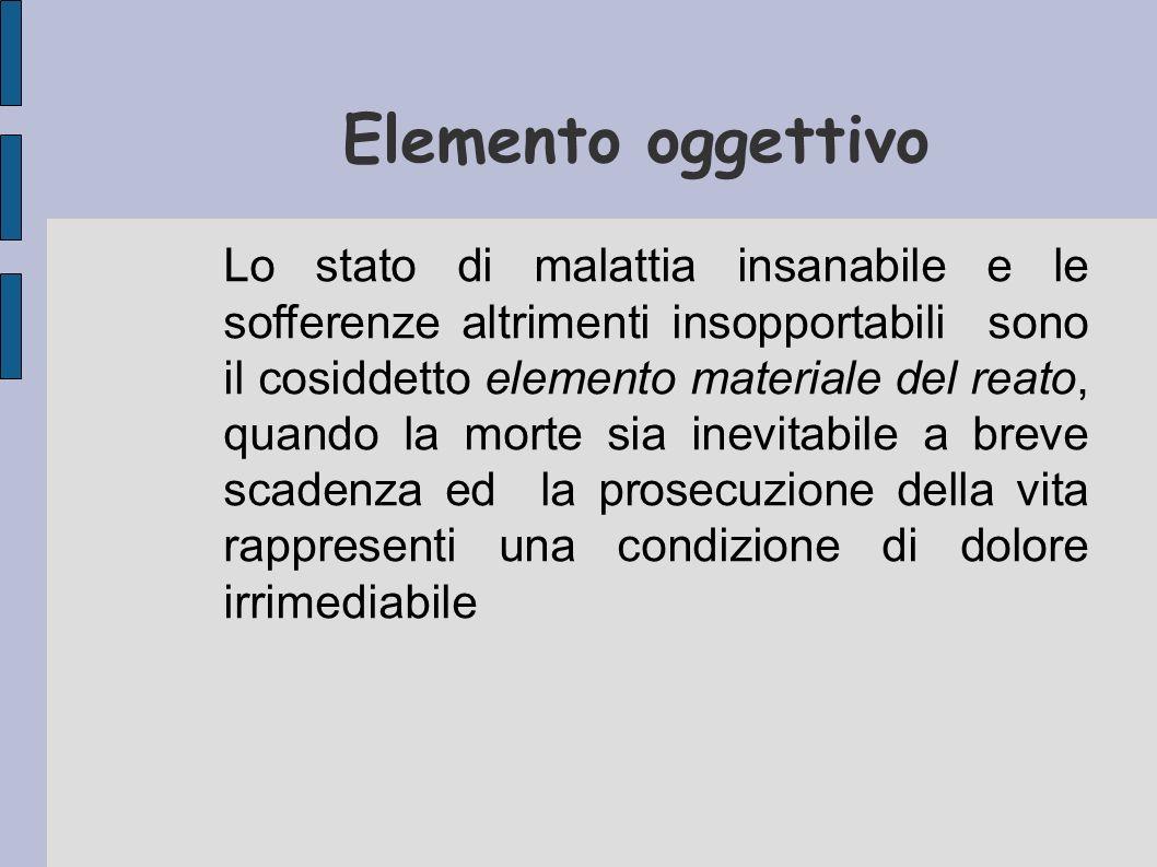 Elemento oggettivo