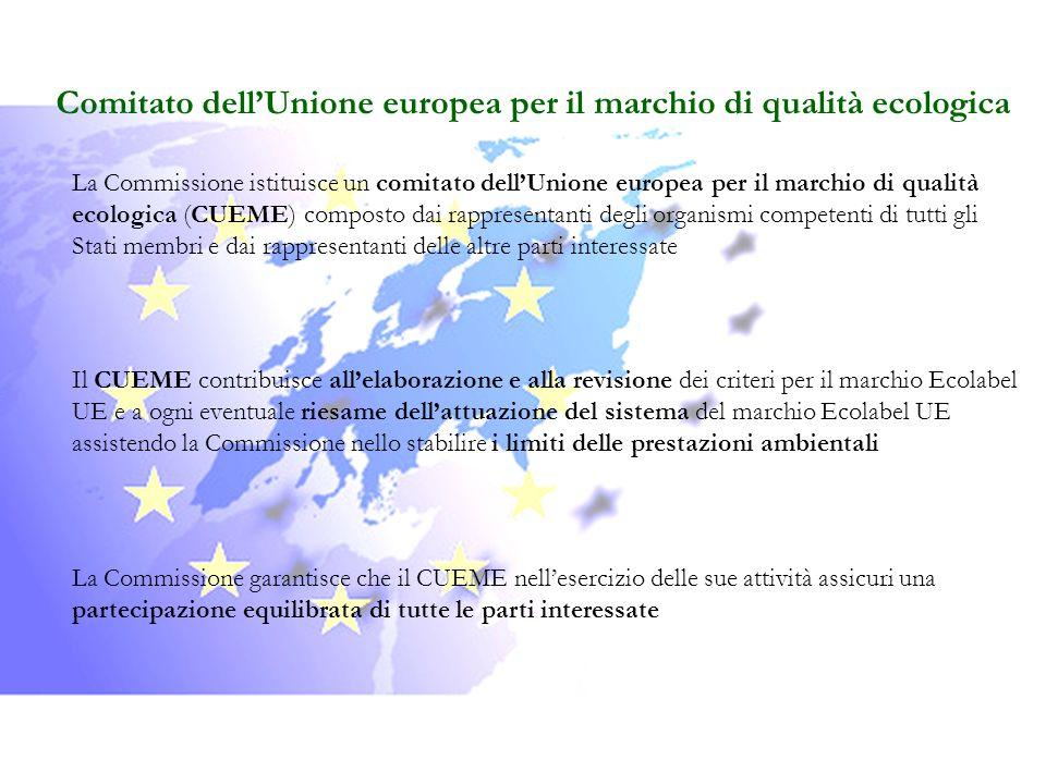 Comitato dell'Unione europea per il marchio di qualità ecologica