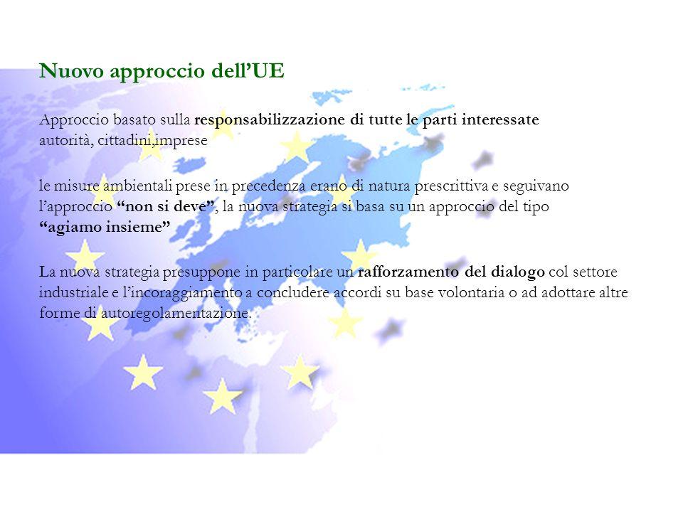 Nuovo approccio dell'UE
