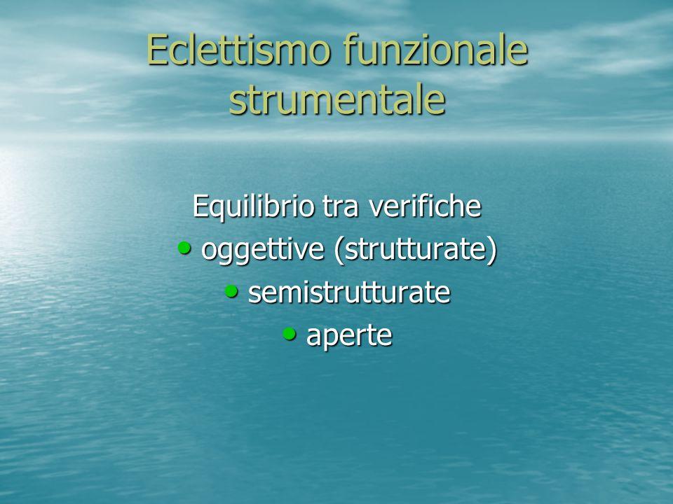 Eclettismo funzionale strumentale