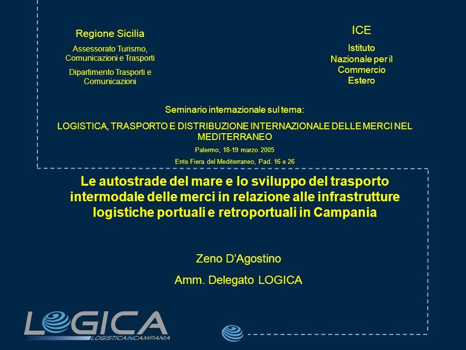 ICE Istituto Nazionale per il Commercio Estero. Regione Sicilia. Assessorato Turismo, Comunicazioni e Trasporti.