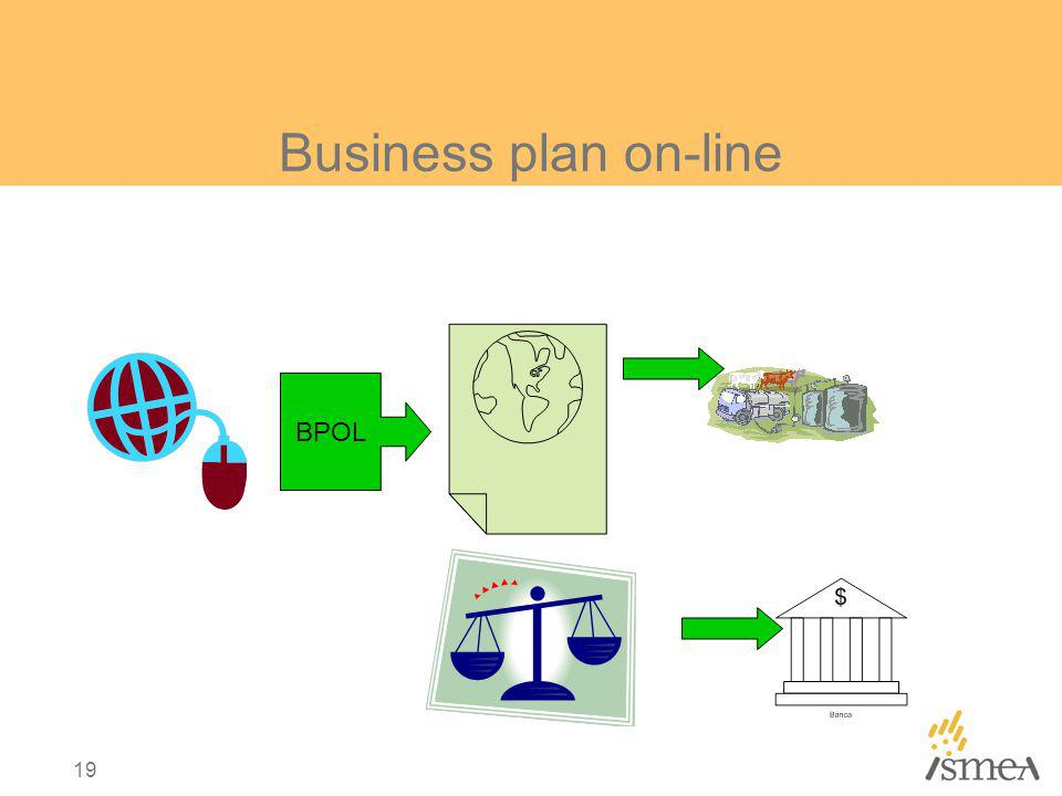 Business plan on-line BPOL