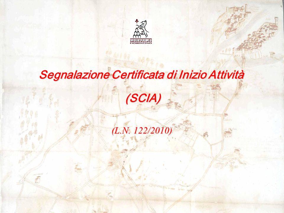 Segnalazione Certificata di Inizio Attività