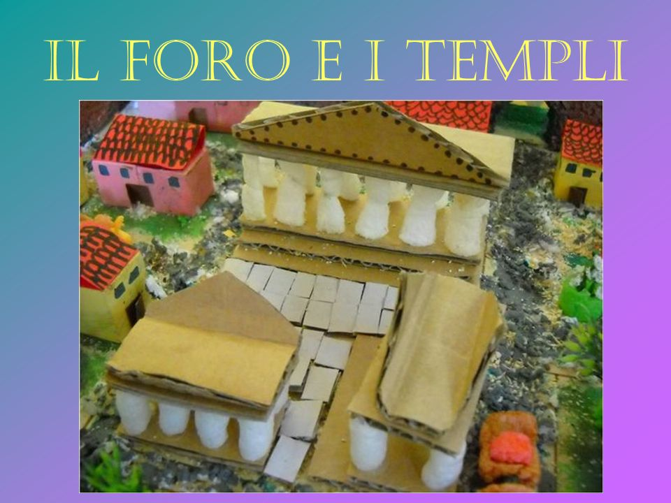 Il foro e i templi